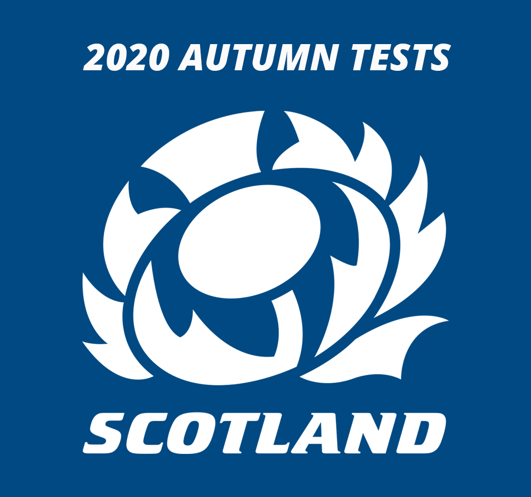 2020 Autumn Tests Button
