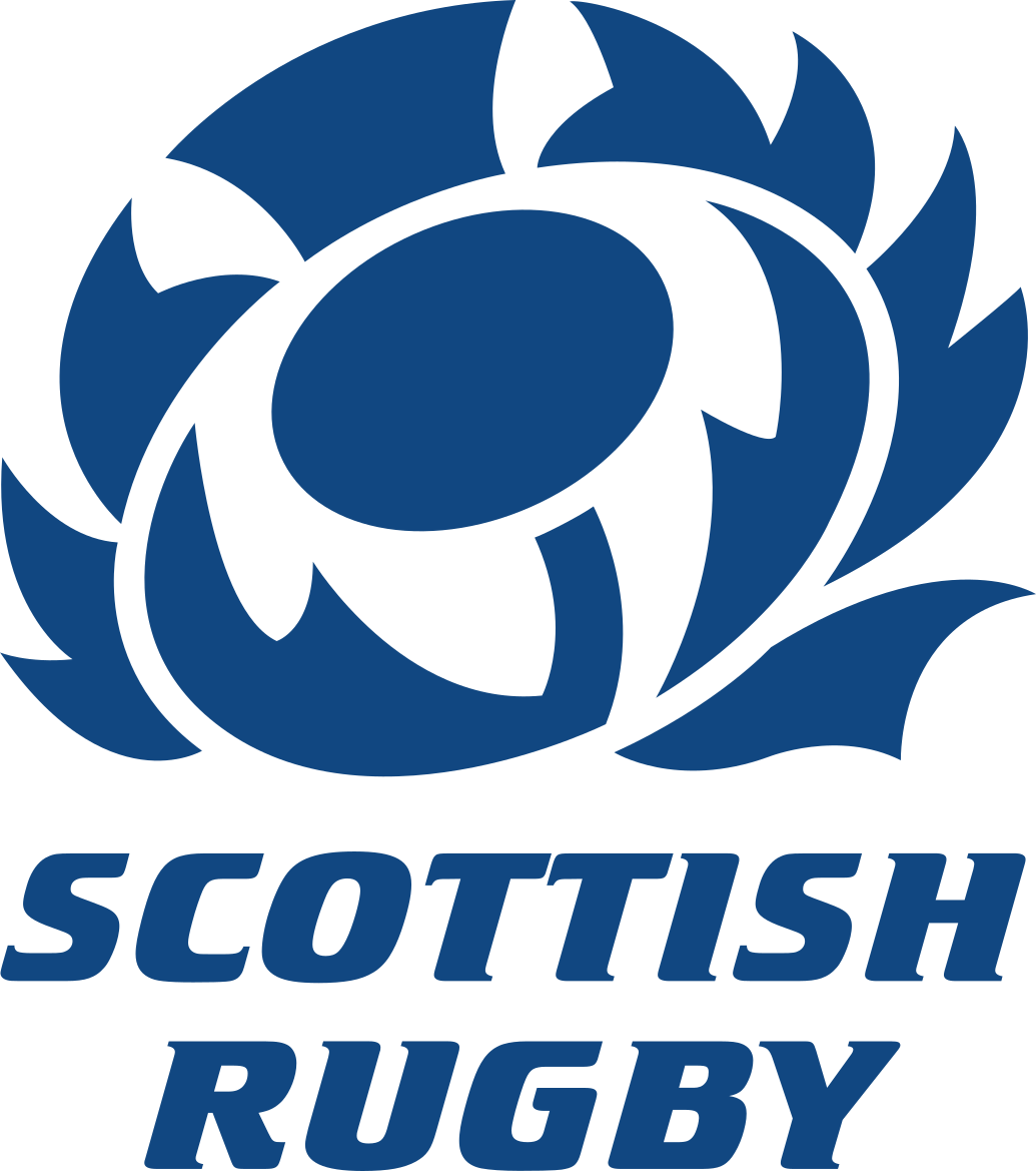 Scottish Rugby Logo in Blue with clear background