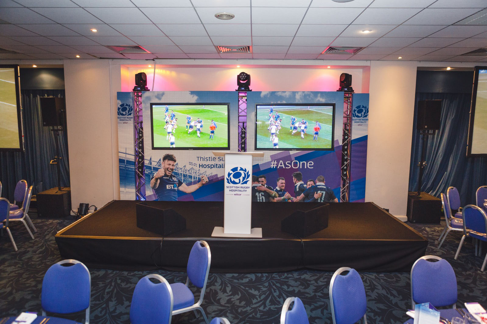 Thistle Suite Stage