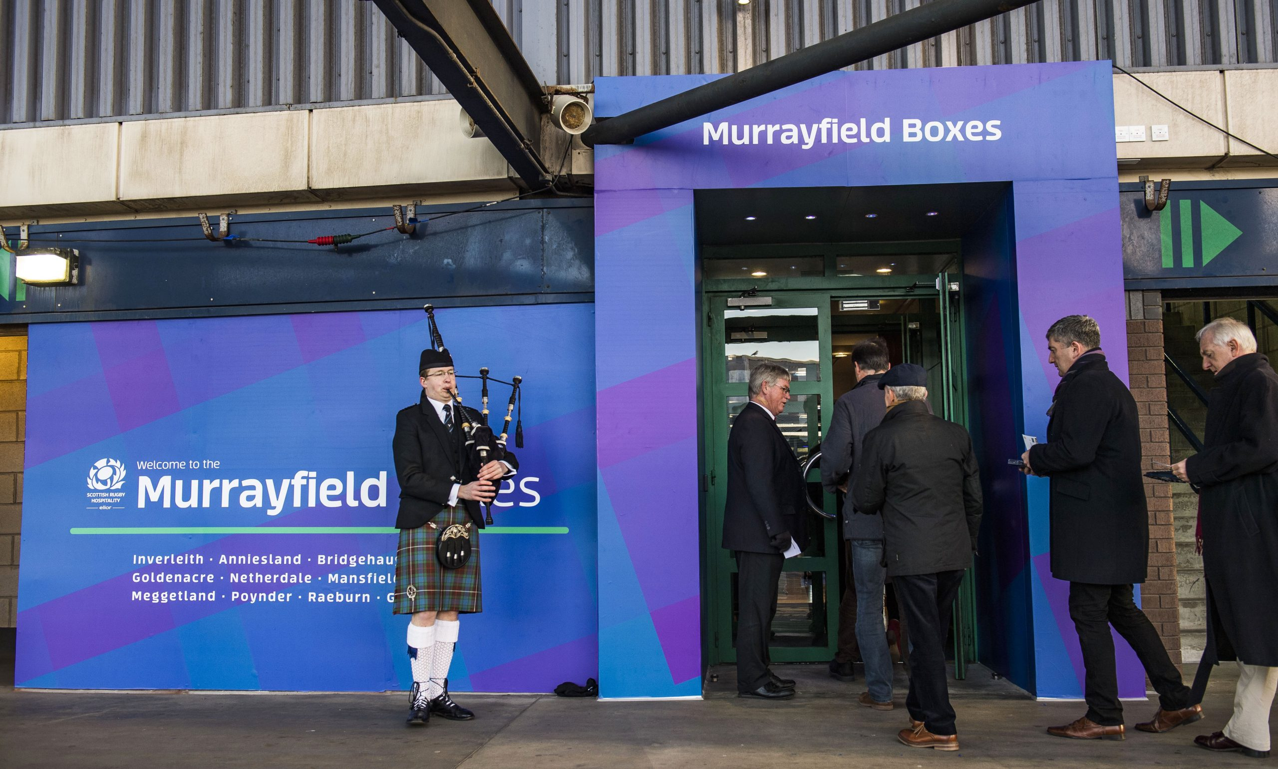 Murrayfield Boxes Entrances Piper